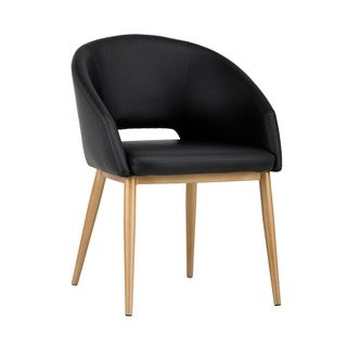 Urban Unity Thatcher Onyx Upholstered Arm Chair