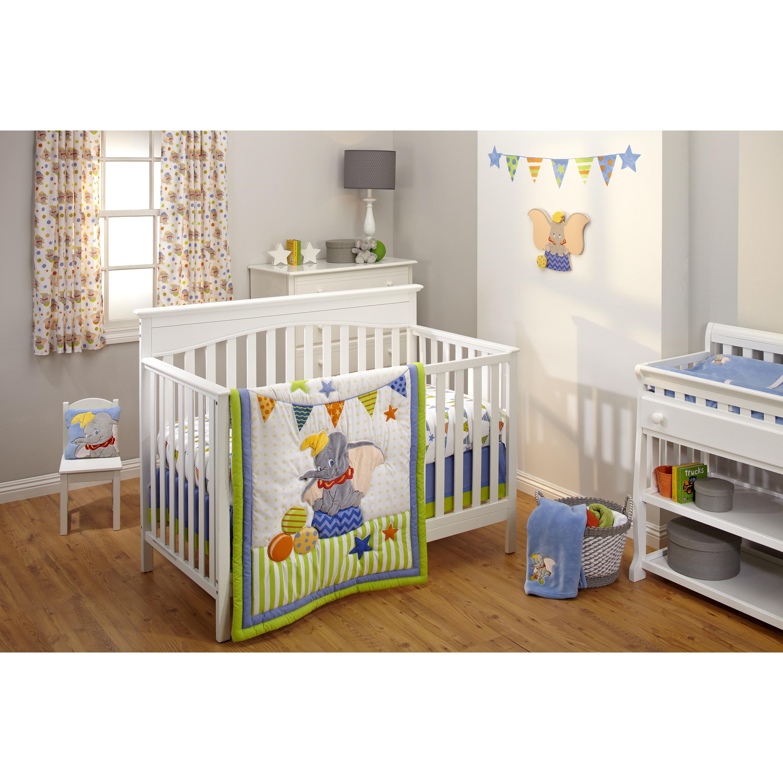 Disney Dumbo - 3pc Bedding Set (3pc Bedding Set), Multi (...