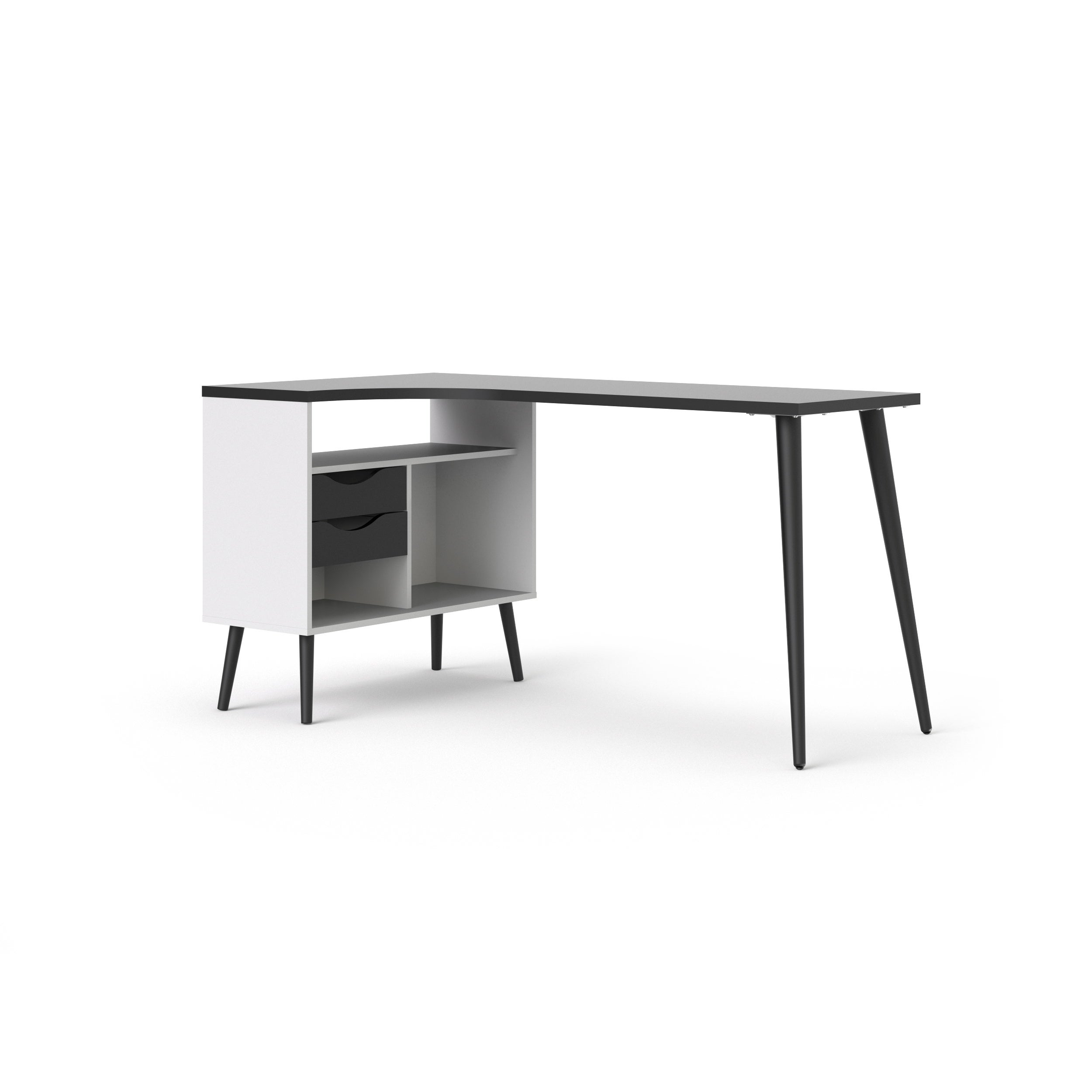 l design master signature baraga white product shaped ashley cfm desk by hayneedle