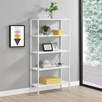 Novogratz Avondale 5 Shelf Bookcase