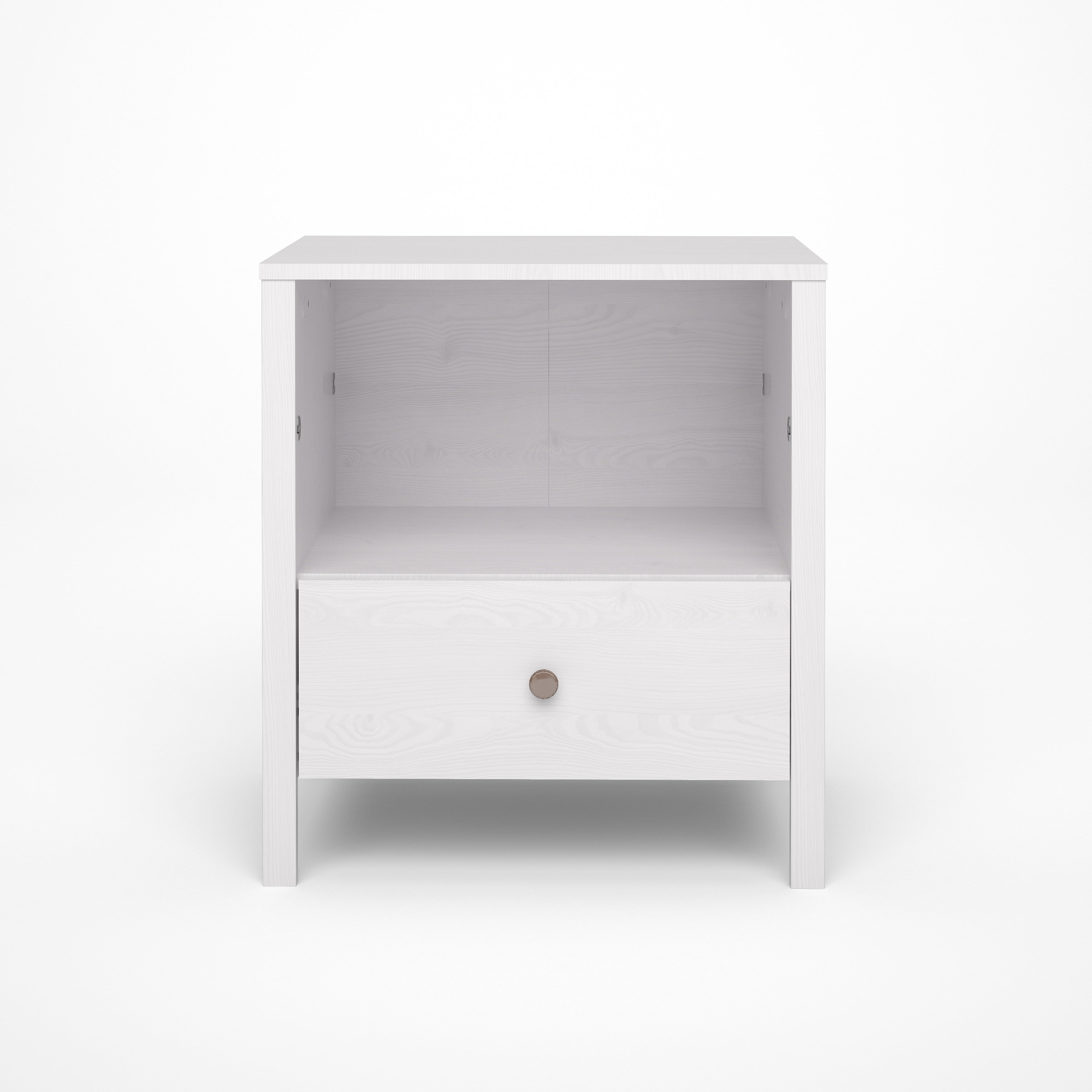 TVILUM-SCANBIRK Seattle White Wash Wood Grain 1-drawer Ni...