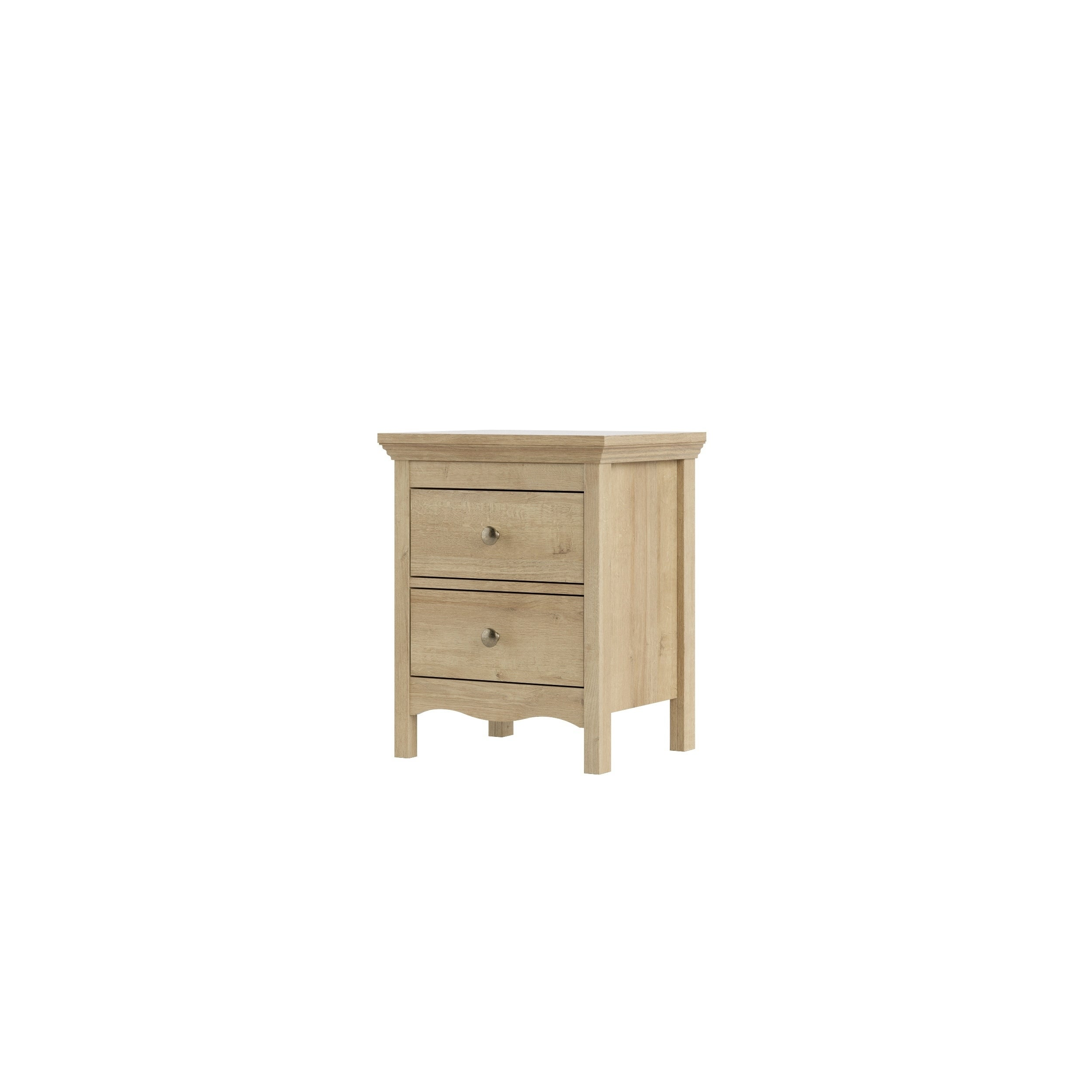 TVILUM-SCANBIRK Silkeborg Riviera Oak 2-drawer Nightstand...