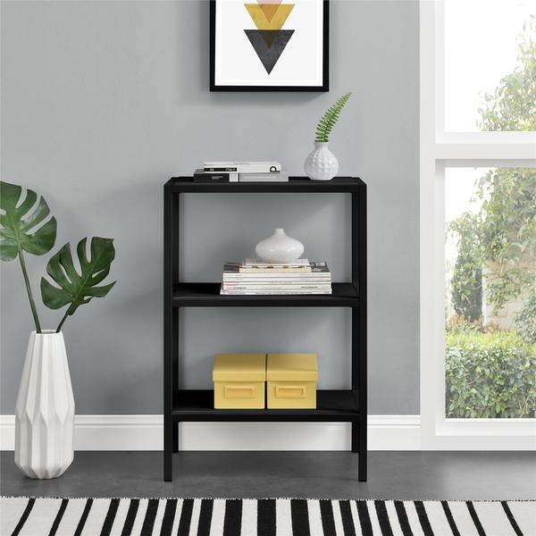 Novogratz Avondale 3 Shelf Bookcase