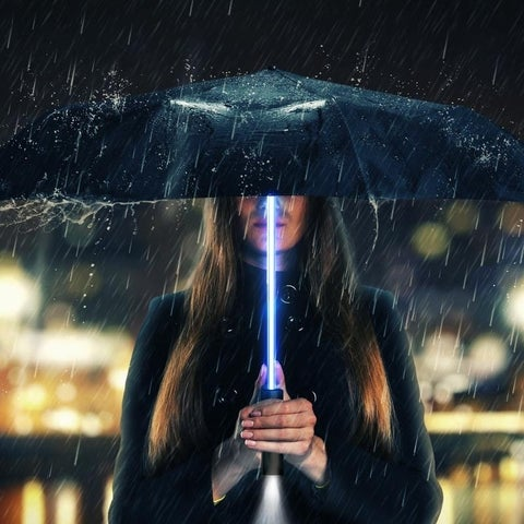 LED Flashlight Umbrella Light Up the Night with 3 different colors
