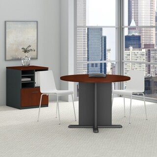 42 Inch Round Conference Table in Hansen Cherry