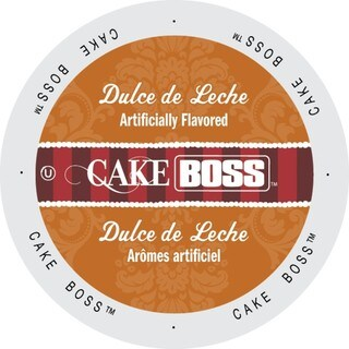 Cake Boss Coffee Dulce De Leche, Single Serve Cups for Keurig K-Cup Brewers 96 Count