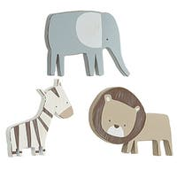 Sadie & Scout -  3pc Safari Shaped Wall Décor