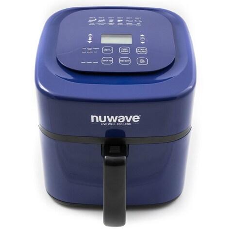 NuWave 37058 6-Quart Digital Air Fryer, Cobalt
