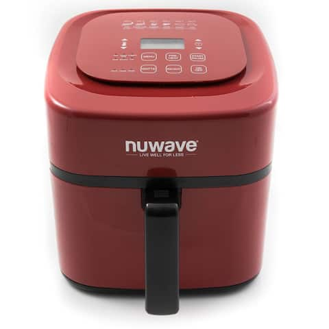 NuWave 37057 6-Quart Digital Air Fryer, Red