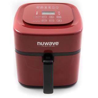 NuWave 37057 6-Quart Digital Air Fryer, Red