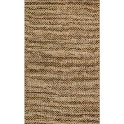 Alexander Home Hand-woven Natural Jute Farmhouse Rug