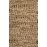 Hand-woven Natural Beige Jute Farmhouse Rug (2' x 3') - 2' x 3'