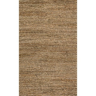 Hand-woven Natural Beige Jute Farmhouse Rug (2' x 3')