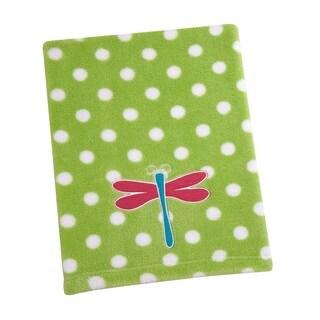 Sadie & Scout- Green Dragonfly Blanket