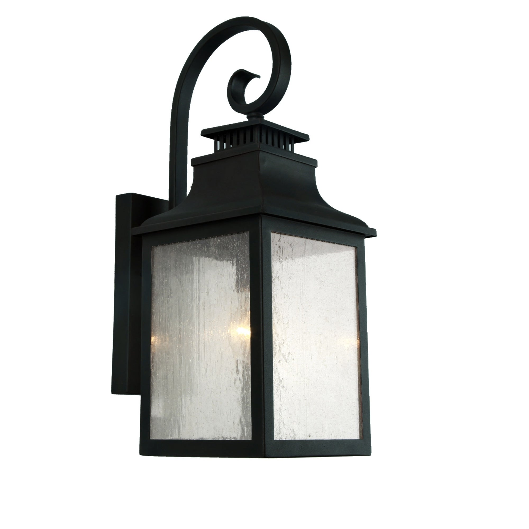 Morgan 1 Light Outdoor Wall Mounted Light In Imperial Black On Sale Overstock 19844140