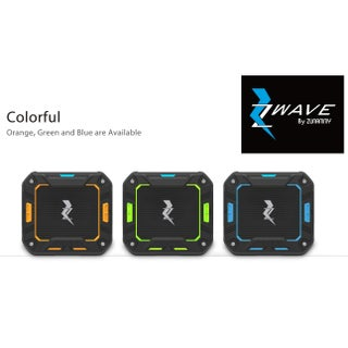 Zwave bluetooth wireless speaker waterproof (Option: Green)
