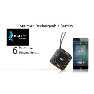 Zwave bluetooth wireless speaker waterproof
