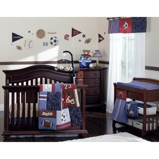 NoJo Play Ball 9pc Crib Set