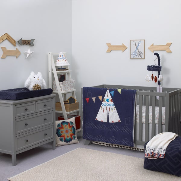 NoJo TeePee 4-Piece Bedding Set