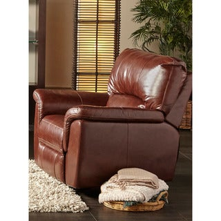 Cambridge Charleston Power Leather Recliner
