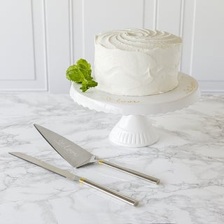 Love Cake Stand and Server Set