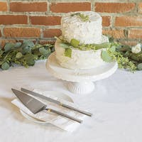Personalized Server Set and Love Cake Stand