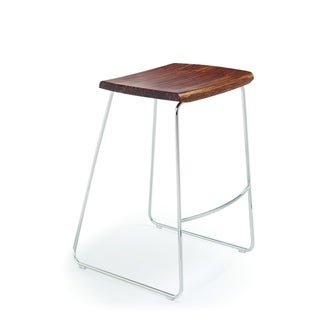 "Greenington G0052E City Lights/Paris 30"" Bar Height Stool without Back, Exotic, (Set of 2)"
