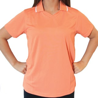 Hartwell Ladies Contrast Collar-Tip Polo (More options available)