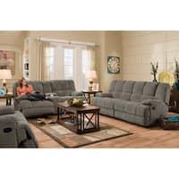 Cambridge Penn Double Reclining Sofa in Charcoal