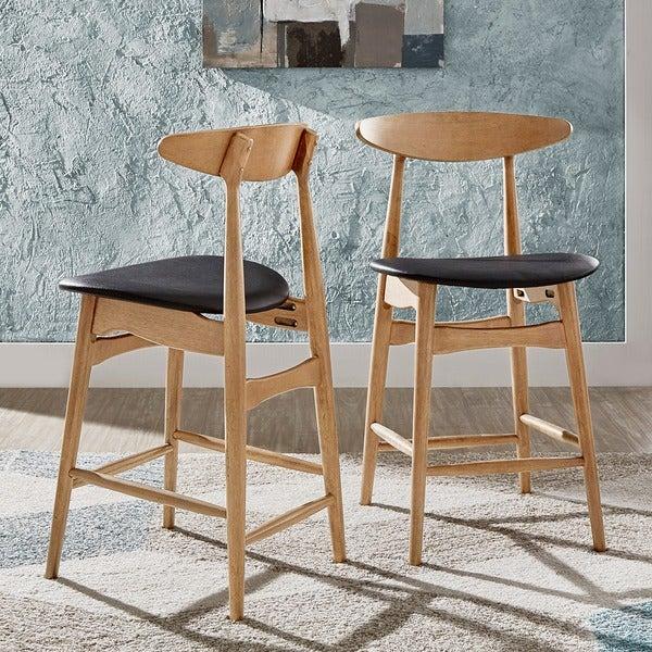 Danish Counter Seat: Shop Norwegian Danish Mid-Century Dark Walnut Counter