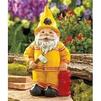 Lauren and Company Novelty Fireman Gnome