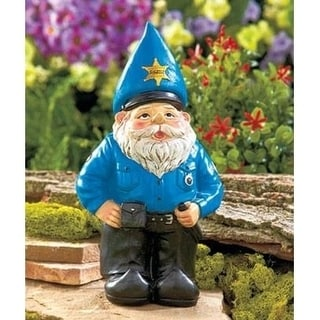 Lauren and Company Novelty Policeman Gnome