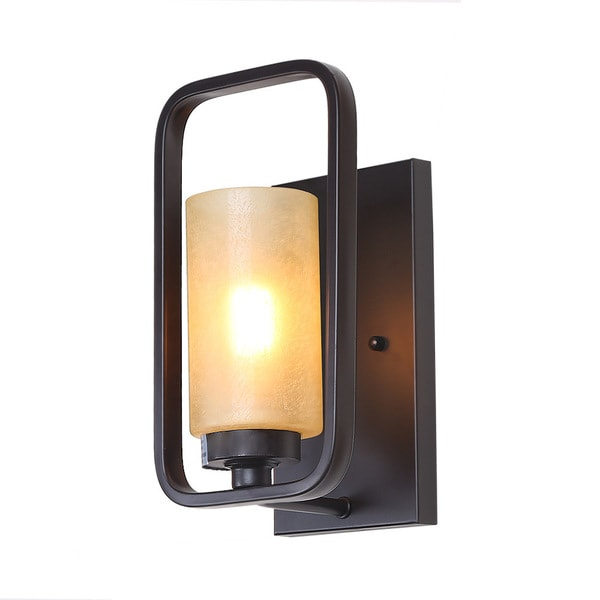 LALUZ 1-Light Wall Sconces Indoor Wall L& use e26 sconces wall lighting  sc 1 st  Overstock.com & LALUZ 1-Light Wall Sconces Indoor Wall Lamp use e26 sconces wall ...