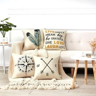 Buy Quotes   Sayings Throw Pillows Online at Overstock  eacf5c3f221d