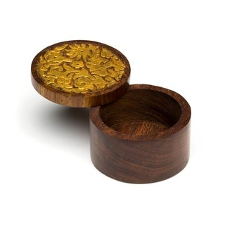 Handcrafted Kashvi Keepsake Box - Vines (India)