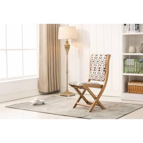 Misty Folding Upholstered Living Room Chair