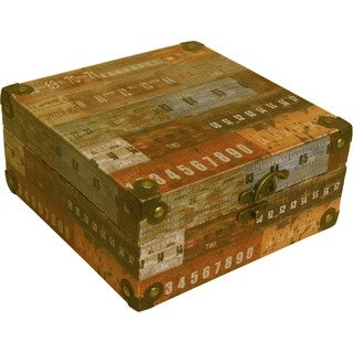 Wald Imports Storage Box With Ruler Design