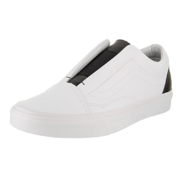 c5fe4c94283 Shop Vans Unisex Old Skool Laceless (Classic Tumble) Skate Shoe ...