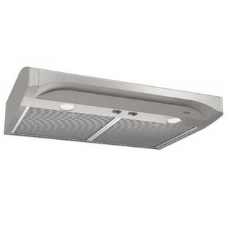 Broan Alta 30 Inch 250 CFM Range Hood in Stainless Steel - White