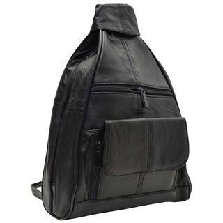 997833d12d39 Shop MICHAEL Michael Kors Rhea Medium Slim Backpack Black Gold ...