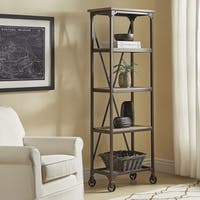 Dania Industrial Etagere Bookcase by iNSPIRE Q Classic