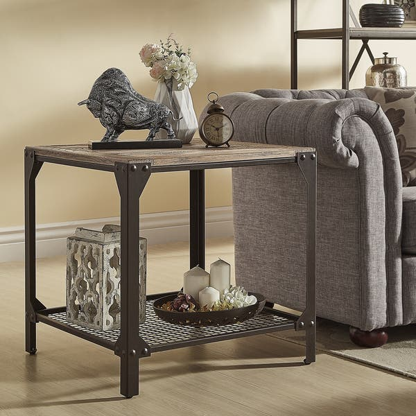 Surprising Shop Dania Industrial End Table By Inspire Q Classic On Cjindustries Chair Design For Home Cjindustriesco