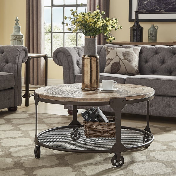 Dania Industrial Accent Tables By INSPIRE Q Classic