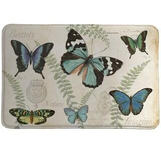 Laural Home Butterfly Naturelle Memory Foam Mat
