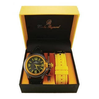 Men Sporty Changeable Band Watch Set 7069