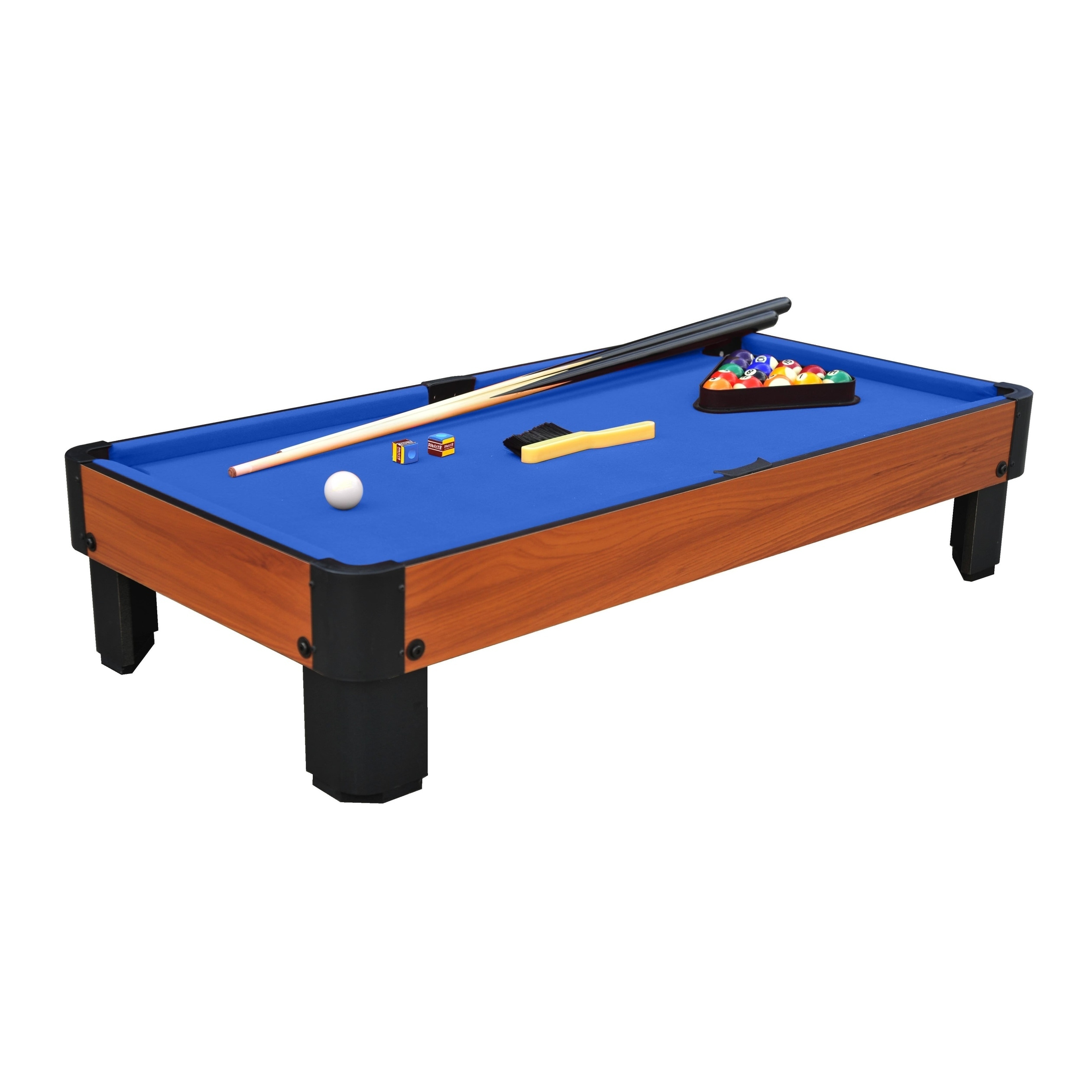 Terrific Details About Airzone Play 40 Table Top Pool Table Blue Home Interior And Landscaping Spoatsignezvosmurscom