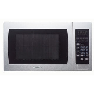 Magic Chef 0.9 Cu. Ft. 900W Countertop Microwave Oven with Stainless Steel Front