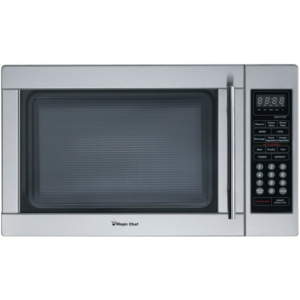 Ft 1000w Countertop Microwave Oven In Stainless Steel Free Shipping Today 19851908
