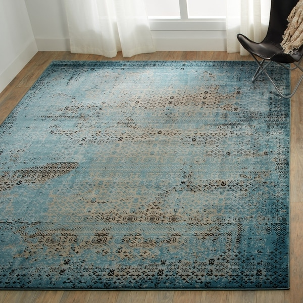Nourison Karma Over-Dyed Distressed Area Rug. Opens flyout.