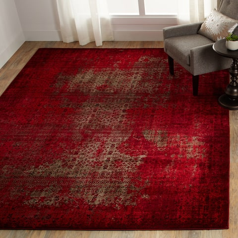 Nourison Karma Over-Dyed Distressed Area Rug